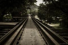 Kanchanaburi - I binari della Ferrovia della Morte - 1 (ugo.ciliberto) Tags: kanchanaburi ferrovia morte prigionieri guerra railway death prisoner war thailandia binari rails