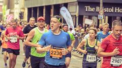 Marathon Runners 92, Simplyhealth Great Bristol Half Marathon (Jacek Wojnarowski Photography) Tags: autumn blurbackground bokeh bristol city citylife depthoffield england europe fall halfmarathon marathon outdoor people selectivefocus simplyhealthgreatbristol splittone splittoning sport uk urbanscene