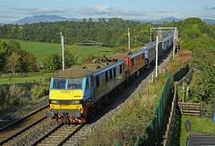 Penrith, Cumbria (DieselDude321) Tags: 90024 90019 class 90 malcolm multimodal db dbs schenker cargo 4m25 0606 mossend euroterminal daventry penrith cumbria