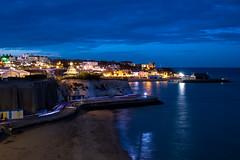 Night to shine (pauldgooch) Tags: england hospice pilgrims canon kent eos thanet charity broadstairs lighttrails beach longexposure bluehour uk 600d pilgrimshospices sea lights seascape shine 2017 harbour seaside unitedkingdom gb