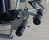 Close-up of gym machine at fitness club (phuong.sg@gmail.com) Tags: care center club dumbbell empty equipment exercise exerciser fit fitness gym gymnasium gymnastic health healthy heart heavy hotel indoor interior leisure life lifestyle machine modern objects power public recreation recreational relaxation resort room row sport steel train treadmill view weight wellness workout