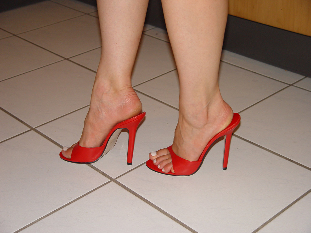 Sexy heels mules dangling full hd preview of my website Part 4 4