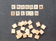 Videos show protesters at NY Erdogan speech punched, hit while being removed (marcoverch) Tags: noperson keineperson business geschäft text desktop paper papier sign schild display anzeigen cube würfel symbol education bildung shape gestalten texture textur abstract abstrakt wood holz finance finanzen alphabet conceptual begrifflich illustration number nummer type art