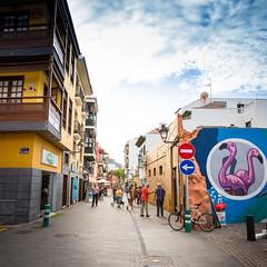 Street in Tenerife (Zeeyolq Photography) Tags: puertodelacruz canaries tenerife canaria spain espagne colorful street canarias