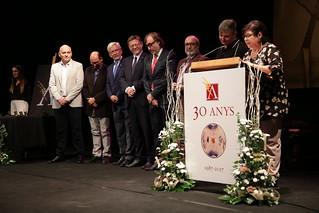 El president de la Generalitat, Ximo Puig, ha participado en la celebración del XXX aniversario de la Casa de la Cultura de l'Alcúdia. 22/09/2017