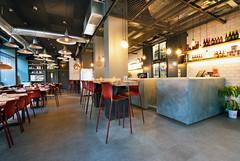 _DSC2061 (fdpdesign) Tags: pizzamaria pizzeria genova viacecchi foce italia italy design nikon d800 d200 furniture shopdesign industrial lampade arredo arredamento legno ferro abete tavoli sedie locali