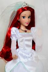 Ariel wedding 04 (Lindi Dragon) Tags: doll disney disneyprincess disneystore dolls ariel little mermaid 2017 wedding