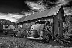 GMC COE (nordbyc) Tags: nelson nevada nv abandoned mining camp rusty crusty
