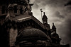 Foto- Arô Ribeiro -4118 (Arô Ribeiro) Tags: pb blackwhitephotos photography laphotographie arte street igreja santiagodochile chile gótico arquitetura arôribeiro