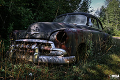 History & heritage (Abandoned Rurex World.) Tags: automobile abandonné abandon hdr 2017 urban urbex rurex mga explored abandoned car lost place old vintage decay derelict ue exploration urbaine canon 1022mm 70d forgotten memento mori 1952 chevrolet chevy fleetline