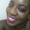 Pink Smile (Cammydoll) Tags: black woman makeup dark skin model curve bbw toronto yyz lips