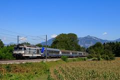 De retour sur le Sillon Alpin Sud (Maxime Espinoza) Tags: train sncf 67300 67000 67305 acheminement vide corail sillon alpin sud trainspotting locomotive ferroviaire ter rhone alpes