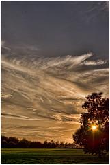Onderdendam (heavy HDR) (Schnarp) Tags: onderdendam groningen provinciegroningen clouds wolken sky lucht hdr pentaxk10d