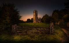 Time (unciepaul) Tags: time church lowick northamptonshire night sunday august bh weekend