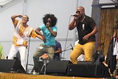 Adonis y Osain del Monte (2017) 05 (KM's Live Music shots) Tags: worldmusic cuba rumba adonisyosaindelmonte neworleansjazzheritagefestival bluestent fairgroundsracecourseneworleans