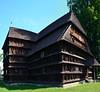 DSC_2472 (aktarian) Tags: hronsek slovakia slovaška church cerkev woodenchurch lesenacerkev unescosite sence shadowplay shadows