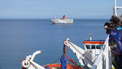 17 08 31 Rosslare Stena Europe  (3) (pghcork) Tags: stenaline stenaeurope ferry ferries rosslare wexford ireland