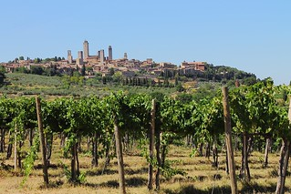 San Gimignano, Tuscany - ITALY in colors