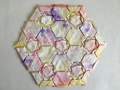 Knot tessellation - Wei Fu back (Monika Hankova) Tags: origami tessellation wei fu paper