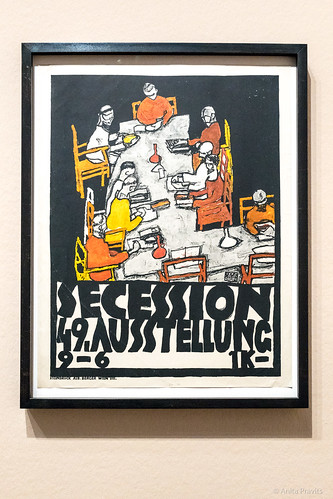 Plakat der 49. Ausstellung der Secession / Poster of the 49th Exhibition of the Secession, 1918