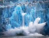 Splashdown (Kevin Rodde Photography) Tags: dawes dawesglacier alaska juneau ice calving splash water fjord blue canon 6d eos6d 24105mm kevinroddephotography kevinrodde celebrity solstice