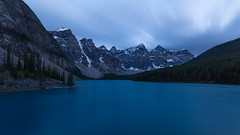 Moody Moraine Blues ... (Ken Krach Photography) Tags: lakemoraine banffnationalpark
