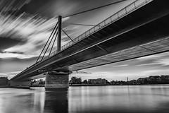 B10 @ The Rhine River (kanaristm) Tags: lee 15stop karlsruhe germany europe rhine river bw kanaristm kanaris kanarist tkanaris tmkanaris copyright2017kanaristm nikon d800e