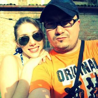 Frank Penna and Rossella Piro #rossella #costume #piro #felfie #frankpenna83 #amicizia #frank #italian #penna #superheroes #frankmania #fecomics #top