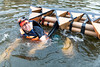 Reston Cardboard Boat Regatta - 2017 (Bosta) Tags: 2017 boat cardboardregatta lakeanne race reston restonmuseum restonvirginia tetraheboat virginia unitedstates us