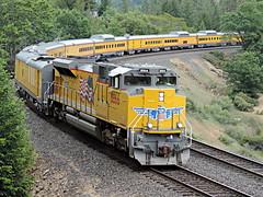 Colfax (ryanclark13) Tags: special california nikon forrest nature metal steel green trees train railroad unionpacific