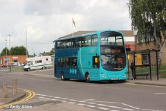 Arriva Midlands 4001 TUI7931 (Andy4014) Tags: tui7931 fj06zpx arriva midlands leicester bus wigston thurmaston sapphire volvo