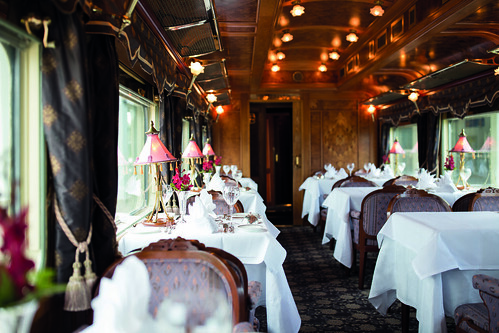 Eastern and Oriental Express Dining