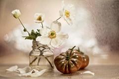IMG_9078---hélios-40-2-85mm-à-f2---tomates-et-bouquet-- web (Monique J.) Tags: