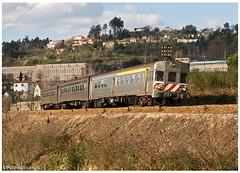 Livração 13-03-10 (P.Soares) Tags: comboio comboios train trains tren transportesxxi terminalintermodal portugalferroviário lusocarris 600 650 sorefame automotora livração diesel linhadodouro