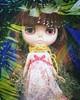 Outdoors blythe (totoropotato) Tags: blythe doll handphone snapseed
