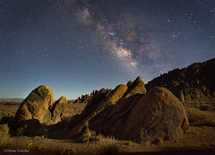 The Milky Way And Moonlight (Mimi Ditchie) Tags: alabamahills easternsierra lonepine milkyway astrophotography night nightsky star moonlight rocks moonlit starrynight landscape nightscape easternsierranevada california californiaeasternsierranevada getty gettyimages mimiditchie mimiditchiephotography