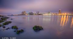 San Diego Skyline II (Dani Maier) Tags: coronado california usa us san diego morning water stone dawn cityscape city