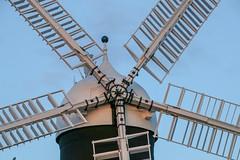 Holgate Windmill sunset, August 2017 - 2