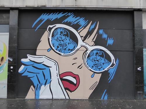 Rich Simmons graffiti, Croydon