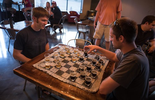 Mastering the Game of Beer Checkers