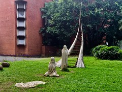 Only the transient is familiar (Ron27ald) Tags: art installation sculpture outdoor iphone folklore universityofthephilippinesdiliman philippines