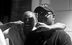 IMG_0001 (Brother Christopher) Tags: blackandwhite monochrome monochromatic explore explored live show liveshow podcast audio audiodocumentary npr gimeltmedia loudspeakersnetwork combatjack reggieosse chrislighty brotherchris hiphop hiphopculture mogul cultre event events talk discussion panel interview