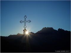 Coucher de soleil au Col de la Croix de Fer