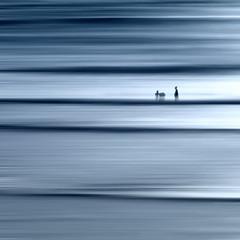 Wavelength (Bruus UK) Tags: treyarnon cornwall abstract coast atlantic beach sea ocean surfing dusk evening tide waves surf bodyboading couple people beachlife blur motion wavelength water marine blue square 11