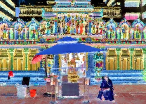 Singapore - Hindu Temple - 13bb