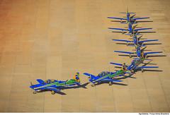 Em formação! (Força Aérea Brasileira - Página Oficial) Tags: 2017 brazilianairforce fab forcaaereabrasileira fotobrunobatista eda esquadrilha da fumaca aeronautica demonstracao aeronaves aviões embraera29supertucano a29supertucano monomotor ala1 patiodeaeronaves portoesabertos evento