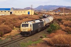 Bioetanol por Torreciega (L_B_A) Tags: cartagena escombreras renfe renfe3333 bioetanol escombreraspuertollano 333307 chapaypintura