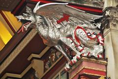Leadenhall Market (chrisinphilly5448) Tags: london leadenhall market street perspective uk unitedkingdom victorian england dragon gargoyl sculpture british english city