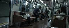 Commuting Osaka (AAcerbo) Tags: osaka japan japanese asian asia train subway commuting city urban life iphone iphoneography