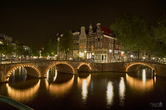 Amsterdam (Netherlands) (Marcial Carretero) Tags: amsterdam netherlands eurupe europe paisesbajos holand holanda puentes canales canal paisaje nocturna holland hollande
